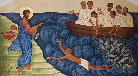 Картинки по запросу проповедь о чудесной ловле рыбы